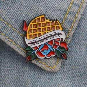 Jewelry - Eleven Waffle Stranger Things TV Pin